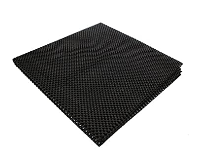 "DCT Heavy-Duty Safety Pad Mat, 24"" x 48"" Inch – Large Non-Slip Liner for Router, Sander, Bathroom Cabinet, Desk Drawer from Deadwood Crafted Tools"