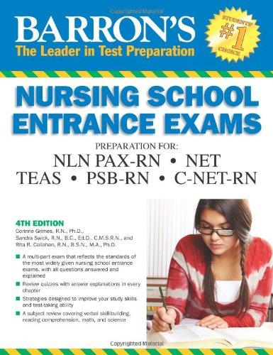 Barron's Nursing School Entrance Exams (Barron's Entrance Exams)