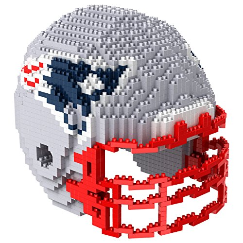 New England Patriots NFL 3D BRXLZ Construction Toy Blocks Set - Helmet