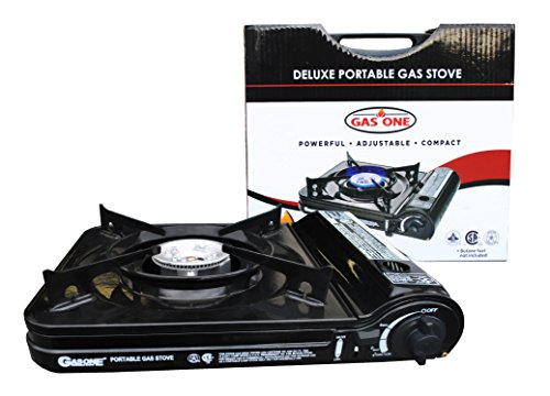 Gas One New 10 000 Btu Csa List Portable Butane Gas Stove With Carrying Case Csa Listed