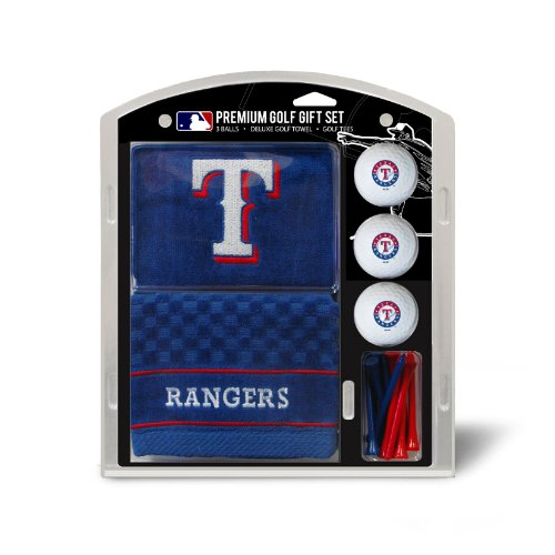 Team Golf MLB Texas RangersEmbroidered Towel Gift Set (Towel Cubs Chicago Golf)