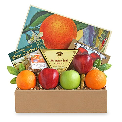 California Delicious Fruit and Cheese Gift Box by California Delicious