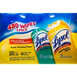 Lysol Disinfecting Wipes Pallet, Lemon Lime and Ocean Fresh, 480 Count