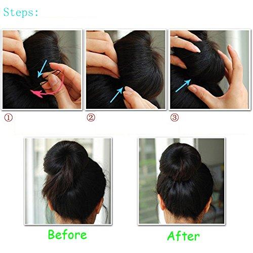 Beauty & Health Hair Care & Styling Tools Hair Pins 50pcs Thin U Shape Hair Bobby Pin Black Metal Clips from LKForward_Beauty and Health