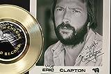 Eric Clapton Gold Record Signature Series LTD Edition Display