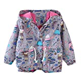 SMALLE ◕‿◕ Clearance,Children Kid Boys Girls Spring Autumn Cartoon Print Trench Jacket Outwear Coat