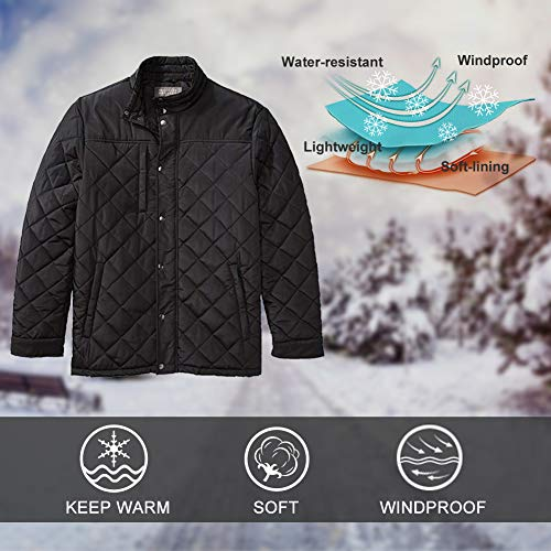 1e3bcbed9228d The Plus Project Mens Lightweight Winter Coat