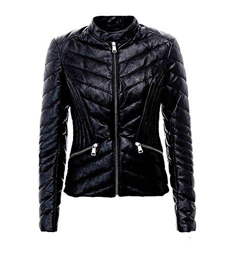Guess Damen Jacke Schwarz schwarz