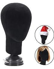 Cabeza de Maniquí, Modelo de cabeza maniquí femenino exhibición con base de montaje