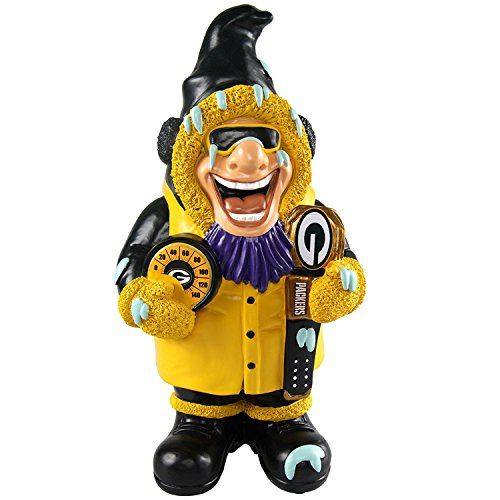 Green Bay Packers Garden (Green Bay Packers Official NFL Caricature Gnome)