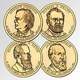 2011 P, D Presidential Dollar 8-Coin P & D Uncirculated