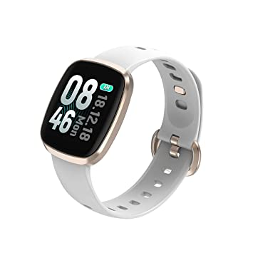 ZMJY Salud y Fitness SmartWatch con frecuencia cardíaca, 8 ...
