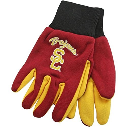 Southern California Trojans Hat - Authentic USC Trojans University of Southern California Logo 2 Tone Team Utility Gloves