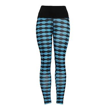 Damen Stretch Yoga Leggings Sporthose Gym Sport Jogginghose Leggins Fitnesshose