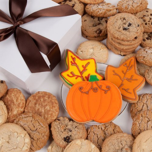 - Happy Autumn Signature Cookie Gift Box- 12 Pc. by Lady Fortunes