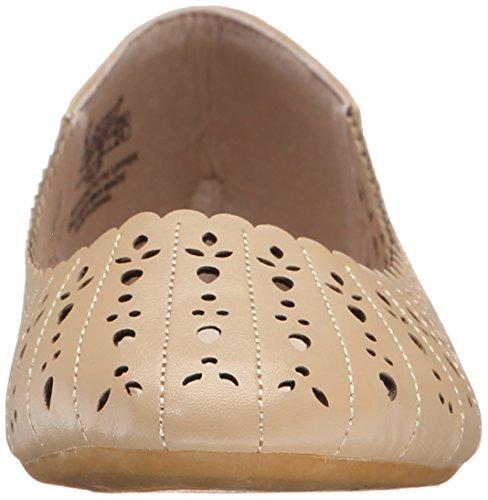 Wilde Schoenen Dames Tulp Ballet Plat Natuurlijk