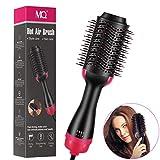 One Step Hair Dryer & Volumizer Multi-functional Styler Comb 3-in-1 negative ion Straightening Brush Salon Hair Straightener Brush Curler for All Hair Types