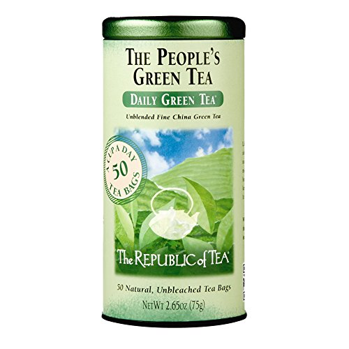 The Republic of Tea, The Peoples Green Tea, 50-Count
