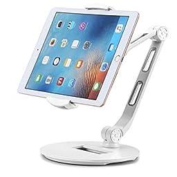 Amazon Co Jp Suptek タブレット スタンド 携帯 Ipad スタンド 4 7 11インチ対応 折りたたみ式アーム 360 角度調節 卓上ホルダー デスク用 持ち運びやすい Yf8d パソコン 周辺機器