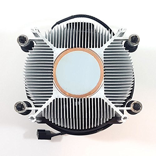 AMD Wraith Spire Socket AM4 4-Pin Connector CPU Cooler With Copper Core Base & Aluminum Heatsink & 3.81-Inch Fan RGB LED Light fr Ryzen R7 by TT Racing (Image #2)