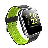Best Sleep Tracking Devices - Carole4 Z40 Bluetooth Sport Smart Watch Men Women Review