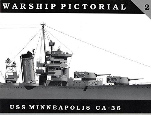 Warship Pictorial No. 2 - USS Minneapolis CA-36