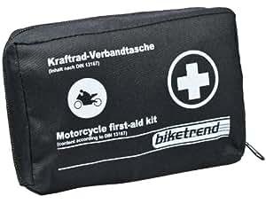 Cartrend Bolsa-Kit de primeros auxilios para moto, DIN 13167