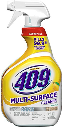 Formula 409 Multi-Surface Cleaner, Spray Bottle, Lemon, 32 Ounces (Packaging May Vary)