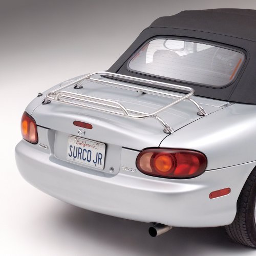 Surco DR1001 Stainless Steel Removable Deck Rack for Mazda Miata ()