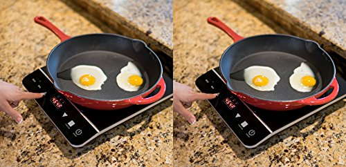 [2 Pack] INDUXPERT Portable Induction Cooktop 1800W with Power - Temperature and Timer Setting - (Only Compatible with Magnetic Cookware)