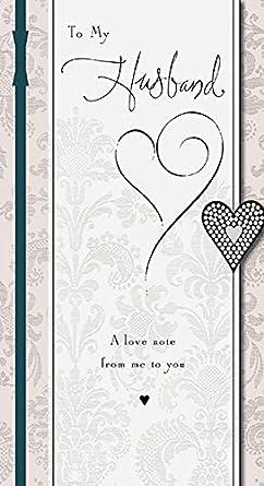 husband anniversary card amazon co uk electronics