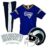 rams football - Franklin Sports NFL L.A. Rams Deluxe Football Uniform Set- Small