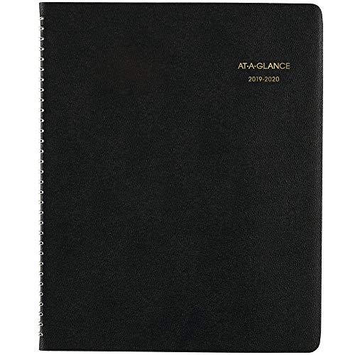 - AT-A-GLANCE 2019-2020 Academic Year Monthly Planner, Large, 9