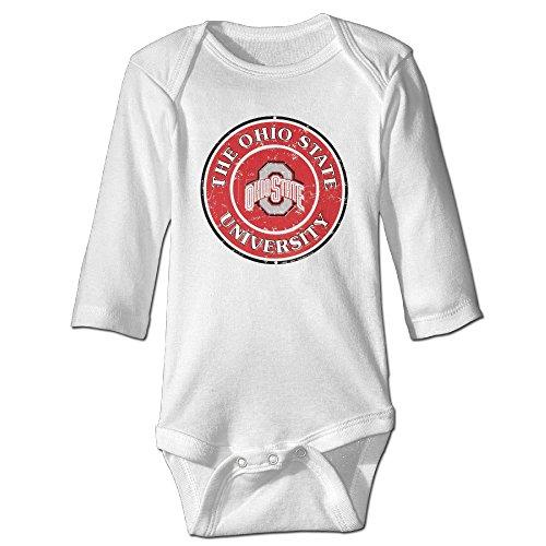 Ohio State University Columbus Masco Long-Sleeve Bodysuit Baby (Cowboy Cheerleader Outfit)