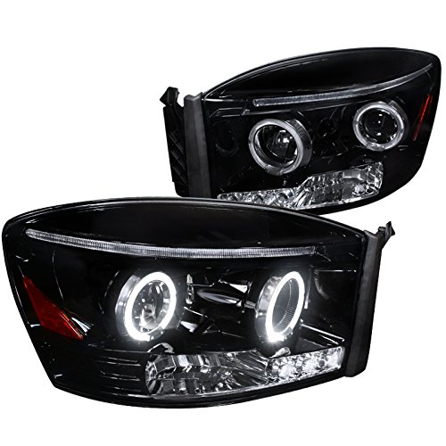 08 dodge ram smoked headlights - 1