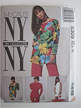 989e2cf4ee7 McCall s Pattern  5309 NYNY Collection Misses  Jacket