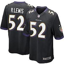 sale_Ravens Mens Ray_Lewis 52# Black Baltimore Game Jersey