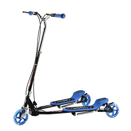 Patinete- Kick Scooter Pedal Doble, Swing Car Light Up ...