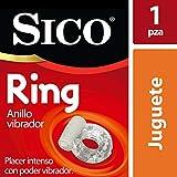 Sico Ring, Anillo Vibrador Transparente Placer Intenso 1 Pieza, con Batería Incluida