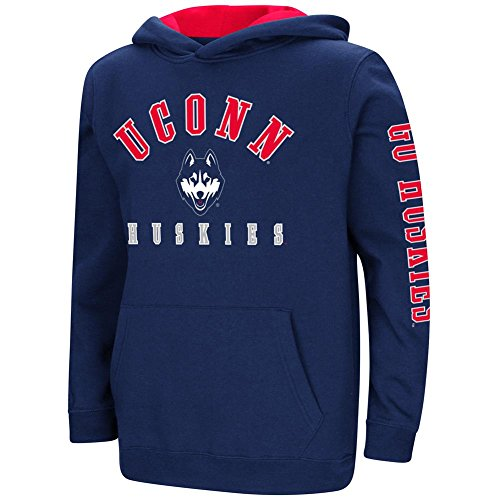 UCONN Connecticut Huskies Youth Hoodie Pullover Sweatshirt (YTH (20))