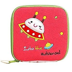 Girl's Cute Cartoon Sanitary Napkin Towel Pads Small Bag Purse Holder Organizer