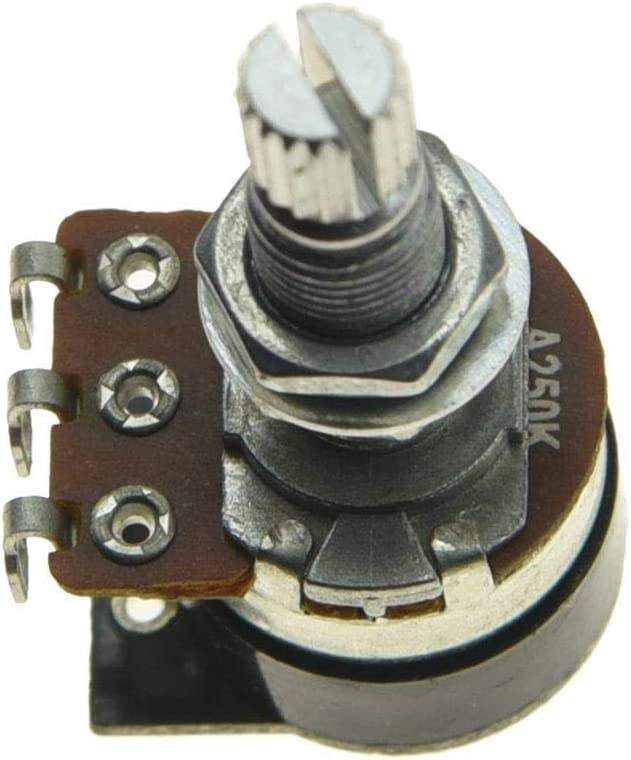 Shadow Kill Pot Guitar Bass Potentiometer with Push Switch to Kill the Sound Audio or Linear Taper A25K//A250K//A500K//B25K//B250K//B500K