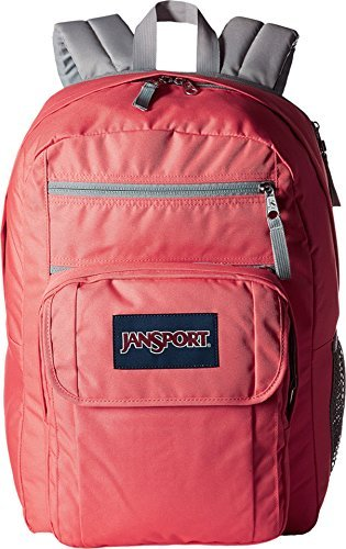 JANSPORT Unisex Digital Student Coral Sparkle/White Dots ...