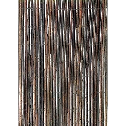 Natural Beautiful Willow Bamboo Fence, 13'W x 5'H (Screen Porch Systems)