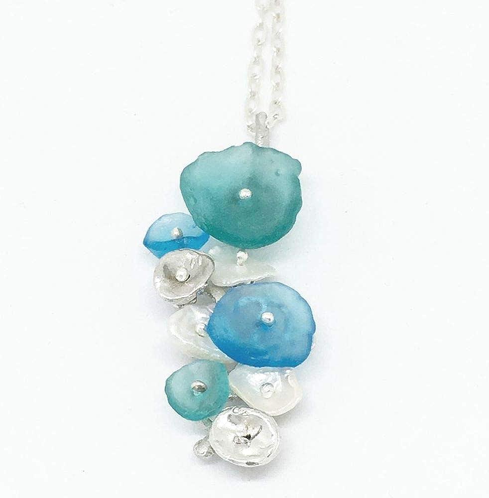 Michael Michaud Drift Away Pebble Pendant Necklace 9247 S