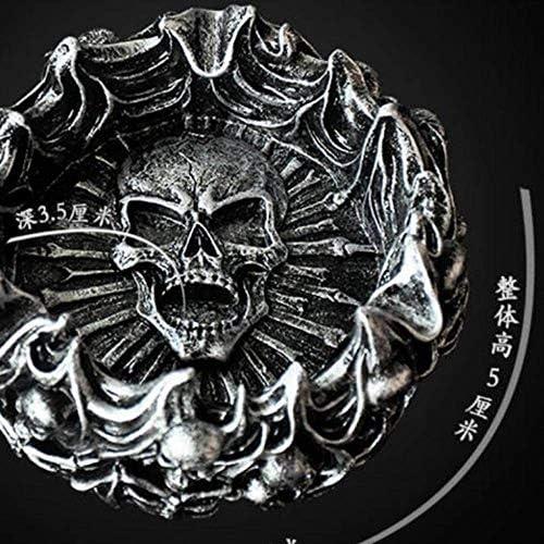 CLJ-LJ ハロウィーンの装飾灰皿レトロレトロ頭蓋骨ホラー灰皿パーソナリティ