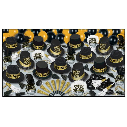 Grand Deluxe Gold Asst for 50 Party Accessory (1 count)