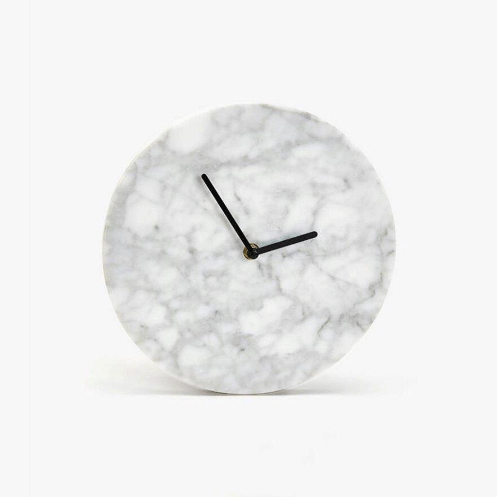 大理石の壁時計リビングルームクリエイティブウォールClcokベッドルームミュートの壁時計 GAODUZI B07FBWJNNW