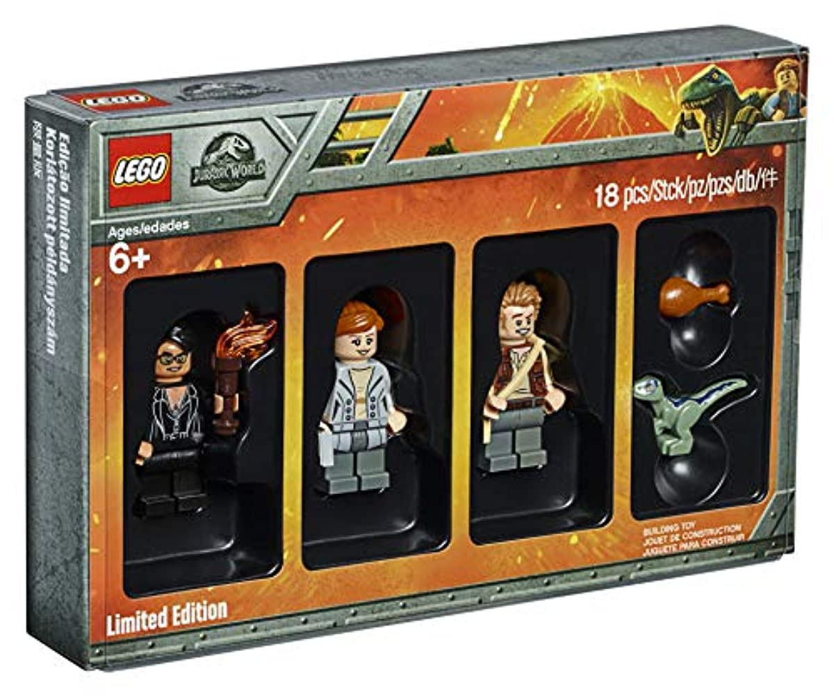 [해외] LEGO 2018 BRICKTOBER JURASSIC WORLD MINIFIGURE SET 2/4