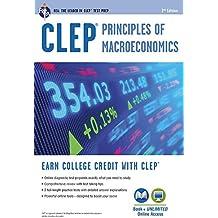 CLEP® Principles of Macroeconomics Book + Online (CLEP Test Preparation)